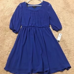 Beautiful bcx small blue dress. NWT.